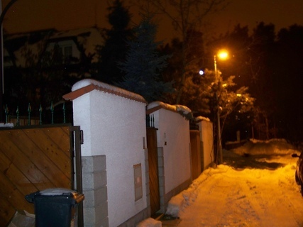 FOTKA - večerní Kunratice ....