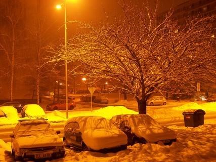 FOTKA - zima ve městě..