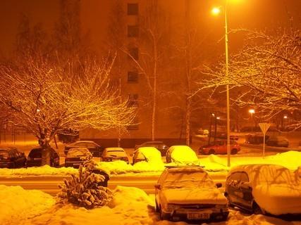 FOTKA - zima ve městě...