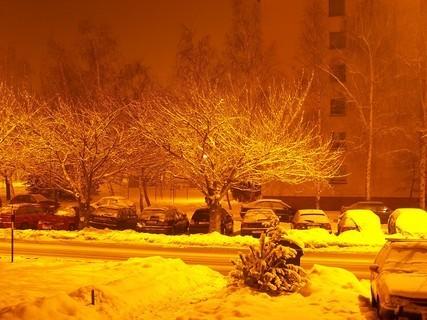 FOTKA - zima ve městě....