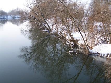 FOTKA - Zimní zrcadlení