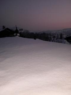 FOTKA - Výhled z okna kuchyně  - 22.1.2010.