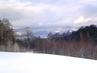 Pohled  od domu na Liberec  a Jizerské hory  - 3.2.2010