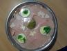 Aspikový šunkový dort