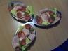Obložená vajíčka na salátu