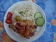 Králík s rýží