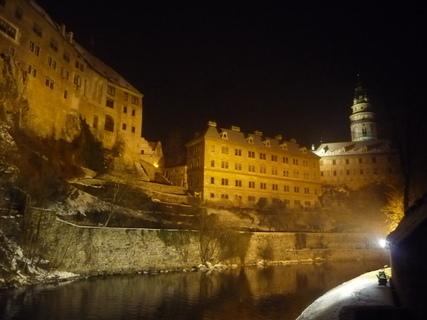 FOTKA - Krumlov v noci......