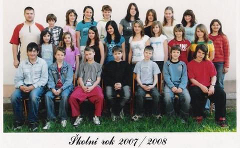 FOTKA - Náš mladej v sedmé třídě
