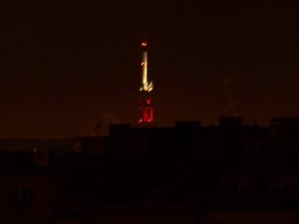 FOTKA - Žižkovská věž brzy ráno