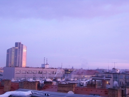 FOTKA - pohled na Pankrác a hotel Corinthia Towers