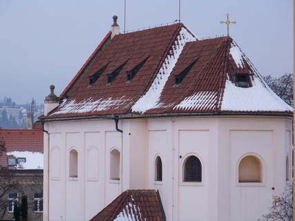FOTKA - pohled na kostel Sv. Pankráce