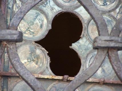 FOTKA - Rozbité okno -asi z lásky