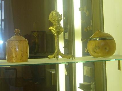FOTKA - Exponáty v bazilice.,