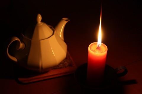 FOTKA - Zátiší se svíčkou I.