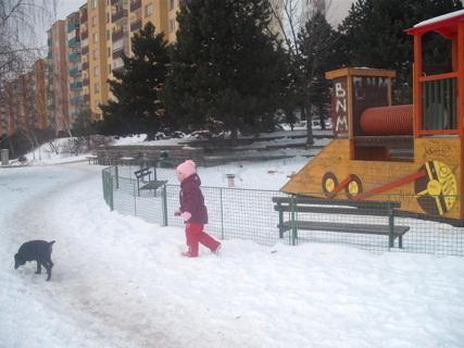 FOTKA - zima u nás