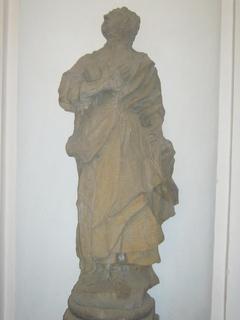 FOTKA - Socha v bazilice