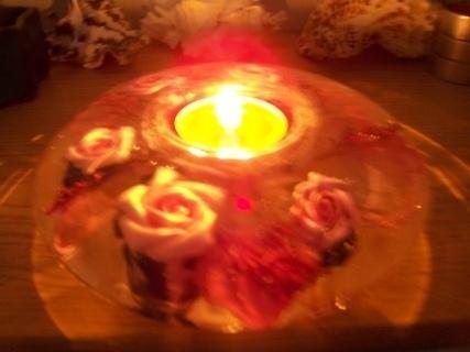FOTKA - večerní kouzlo gelové svíce