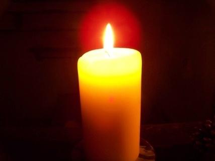 FOTKA - vanilková svíčka....