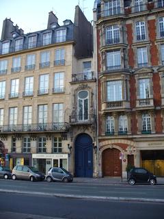 FOTKA - Paříž - nejužší dům