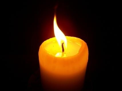 FOTKA - svíčka - pohybující plamínek