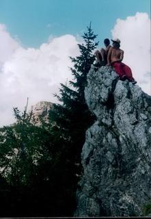 FOTKA - Až na vrcholky hor..