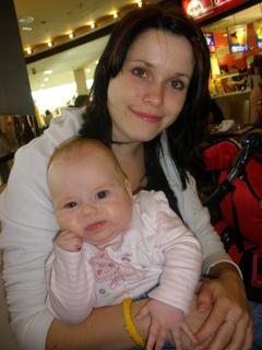 FOTKA - Eliška s maminkou
