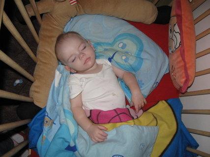 FOTKA - Poloha při spaní 2.  :-)