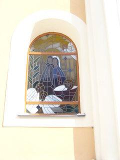 FOTKA - Stará Říše, okno kostela