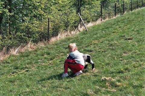 FOTKA - Leonka a koza