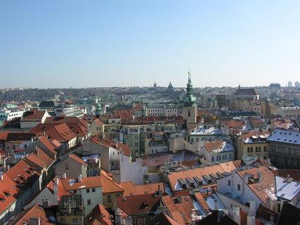 FOTKA - výhled ze Staroměstské radnice směrem k Václavskému nám.