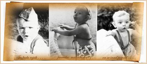 FOTKA - vzpomínka v kočárku