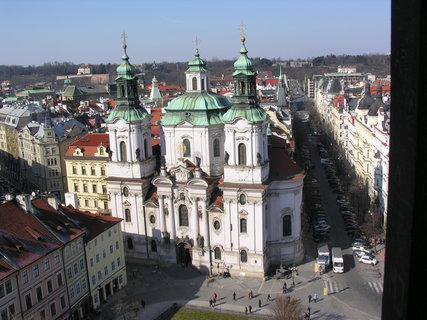 FOTKA - kostel sv. Mikuláše v Praze u Staroměstského nám.