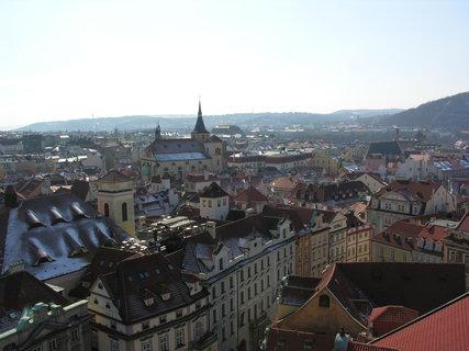FOTKA - pohled ze Staroměstské radniční věže k jihozápadu