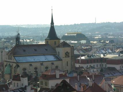 FOTKA - sv. Jiljí a Národní divadlo (ze Staroměstké radnice)