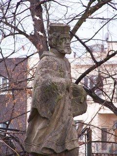 FOTKA - socha Sv. Pankráce u kostela