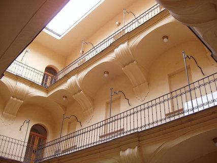 FOTKA - Dům U Kamenného zvonu - dvorek