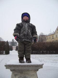 FOTKA - Honzík pózuje