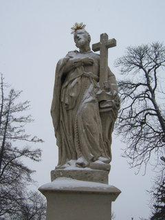 FOTKA - socha na mostě..