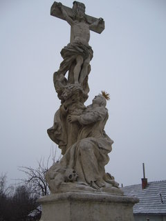 FOTKA - socha na mostě...