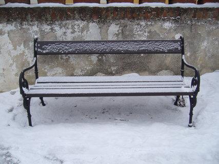 FOTKA - lavička.