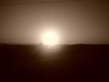FOTKA - Sépiový západ