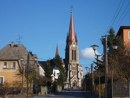 FOTKA - kostel ve Vítkově I