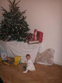 FOTKA - Miláčekca dárečky Vánoce2007