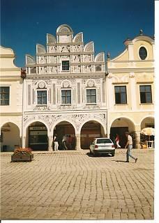 FOTKA - Telč náměstí