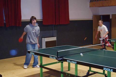 FOTKA - školní akce - ping pong