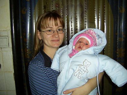 FOTKA - Natálka  s maminkou