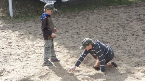 FOTKA - hrajeme si v písku