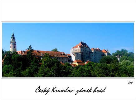 FOTKA - Panorama -hradu a zámku