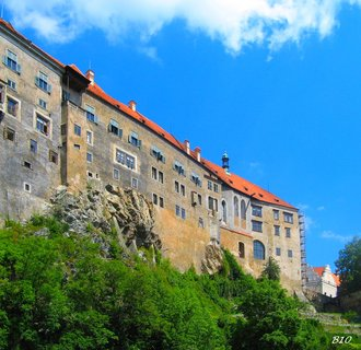 FOTKA - část zámku Český krumlov