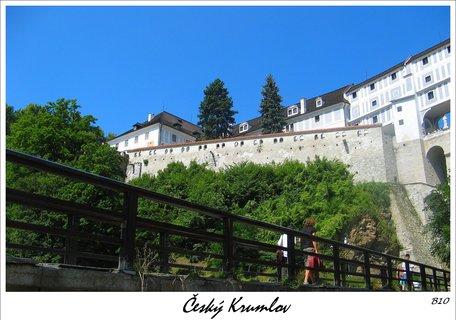FOTKA - město Unesco - k zámku a hradu